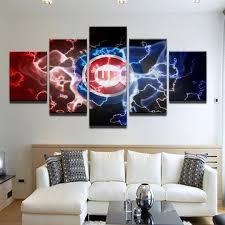 chicago cubs sport 5 panel canvas art