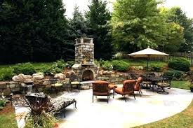 cost outdoor fireplace of wood construction effective