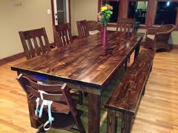 rustic dining room tables. Rustic Dining Table For 8 Room Ideas Tables