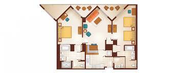 Perfect Photo 1 Of 6 Aulani Two Bedroom Floor Plan Aulani Two Bedroom Floor Plan  Marvelous Disney Aulani 2 Bedroom Villa