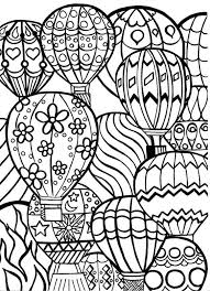 Small Picture Hot air balloon festival coloring pages for adults ColoringStar