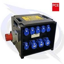 PCE A81 – Merz 63a 400v – 3 x 32a 6 x 16a 230v + RCD/MCB | Energy Generator Sales