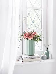 Sommerlicher Ausblick Die Vase The Lyngby Im Frischen Mint Sorgt