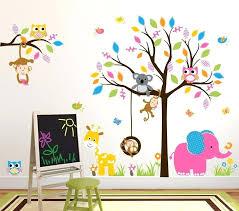 jungle wall stickers john lewis s