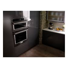 kitchenaid 30 6 4 total cu ft microwave convection wall oven combination
