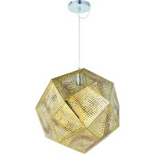 Mesh Pendant Light Modern Stylish Pendant Light D48 Gold
