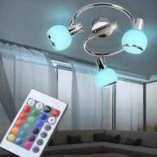Zimmer Fernbedienung Dimmbar Lampe Decken Led Rgb Rondell