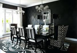 antique white dining room set. Antique White Dining Room Set Contemporary Black And Furniture With Extra Large Carpet .