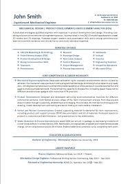 Mechanical Engineering Resume Template Resume Template Mechanical Engineering Resume Example P1