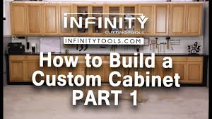 How To Build A Custom Cabinet Part 1 Youtube