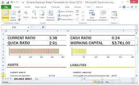 Personal Finance Balance Sheet Template Personal Financial Statement ...
