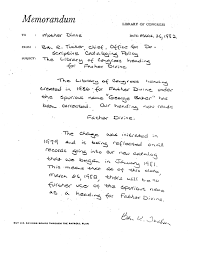 Copy Of The Letter From The Library Of Congress On Catalog Heading