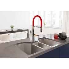 ruvati 35 triple bowl undermount 16 gauge stainless steel kitchen sink rvh8500