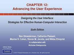 Designing The User Interface 3rd Edition Ben Shneiderman Pdf Chapter 12 Advancing The User Experience Ppt Download