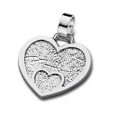 memorial fingerprint jewelry loved one pendant s