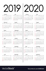 Free Calendars For 2020 2019 And 2020 Calendars