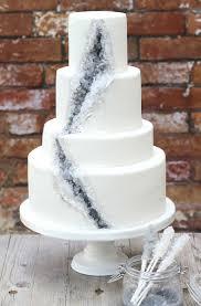 A Geode Wedding Cake A Rock Candy Recipe Sugared Rose