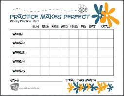Free Music Practice Charts For Kids Makingmusicfun Net