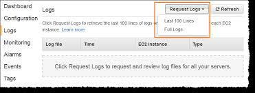 Log S Viewing Logs From Amazon Ec2 Instances In Your Elastic