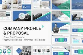 Business Proposal Powerpoint Company Profile And Business Proposal Powerpoint Template
