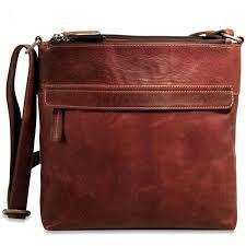 jack georges voyager leather zip top hobo bag brown shoulder bags all luggage luggage