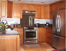 Small Picture honey oak kitchen cabinets with black countertops oak cabinets