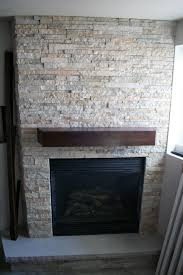 Magnificent Faux Stone Electric Fireplace Home Ideas Faux Stone Stacked Stone Veneer Fireplace