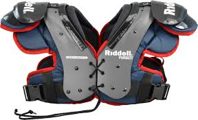 Riddell Football Shoulder Pads Size Chart Riddell Pursuit Youth Football Shoulder Pads