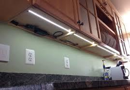 plug in cabinet lighting. Plug In Under Cabinet Lighting Cyron Led Cupboard Kitchen