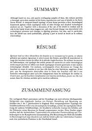 Resume Summary Section ...