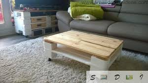 images of pallet furniture. Indoor Painted Coffee Table From Pallets Images Of Pallet Furniture