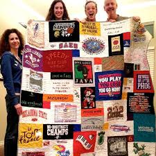 128 best Too Cool T-shirt Quilts images on Pinterest   Colleges ... & True Too Cool T-shirt Quilt joy! Adamdwight.com