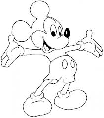 Small Picture Mickey Mouse Coloring Sheets Pdf Coloring Pages Kids Coloring