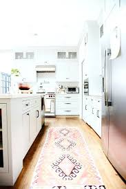 vintage rugs in the kitchen interiors by lively colorful kitchen rugs