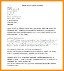 Counter Offer Letter Bunch Ideas Of Sample From Employer Proposal A ...