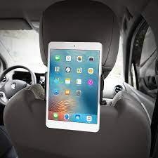 Giá đỡ điện thoại, ipad kẹp sau ghế ô tô điều chỉnh - Giá đỡ ipad trên ô tô