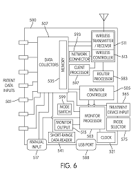 patent us20090069642 wearable wireless electronic patient data patent drawing