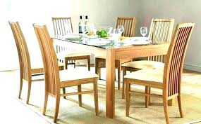kitchen table 6 chairs full size of glass dining chair round set with retro top