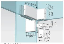 this series of glass door patch fittings are used for offices hotels and houses if you equip them your room will look cute and modern