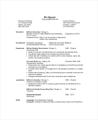 Resume With References Resume Computer Science Template | Example Template