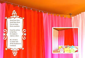 ways easy way to hang pictures how on concrete walls without drilling curtains from the ceiling