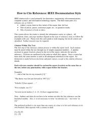 Ieee Citation Guidelines2pdf Citation Publishing
