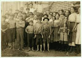 child labor social welfare history project group of workers in clayton n c cotton mills 1912 photo library of congress gift of the national child labor committee 1954 55b 13 55b 14