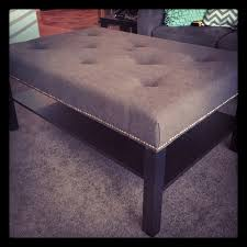 square tufted ottoman coffee table decor color ideas of charming diy ottoman coffee table luxury ikea