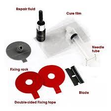 visbella windshield repair kit diy car window windscreen glass fix tool 3