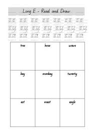 Home > english language arts worksheets > phonics > long vowels sounds. Jolly Phonics Long Vowel Sound Worksheets By Leia S Room Tpt