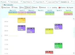 Sample Calendar Of Events Template – Helenamontana.info