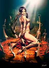 Female bondage fantasy art and images
