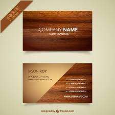 wooden business cards wooden business card vector free download