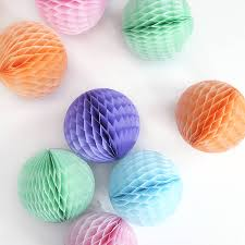 Party Decorations Tissue Paper Balls Tissue Paper Ball Decoration Tissue paper ball Ball decorations 72